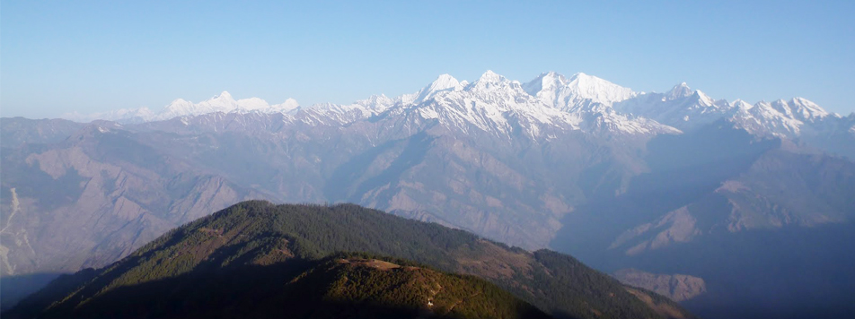 Ganesh Himal Treks (Views from Sing La Pass 4050m.)